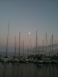 Setting sail...