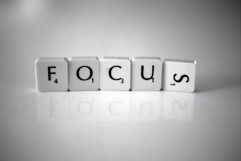 Don't forget to live: Focus. CC by Nina Matthews