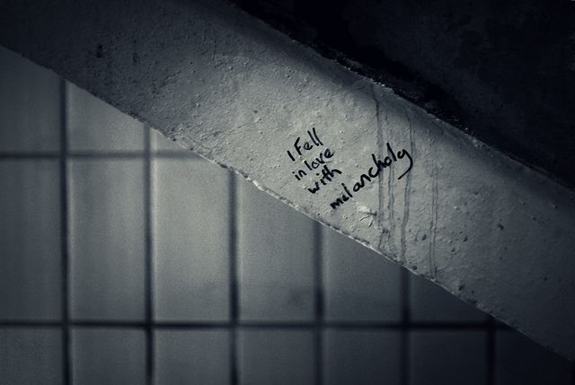 I fell in love with melancholy by TempusVolat @Flickr
