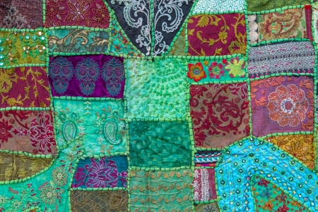 We are patchwork quilts. @ Shutterstock