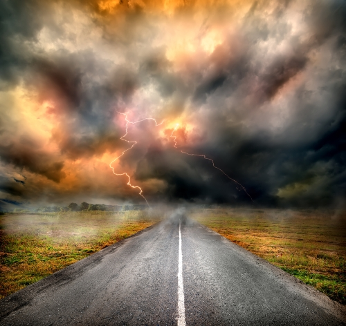 The storms of our lives. Shutterstock photo.