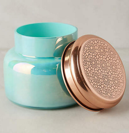 Capri Blue Iridescent Jar Candle by Capri Blue $28.00 at Anthropologie