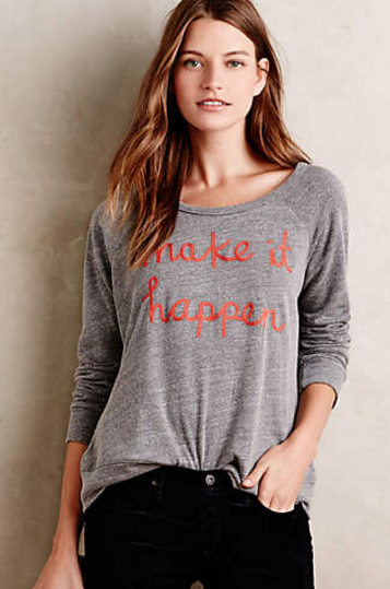 Make It Happen Pullover by Sundry $88.00 at Anthopologie