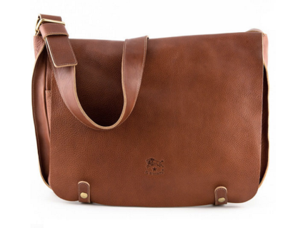 %22Houston%22 messenger bag for men by IL Bisonte $898